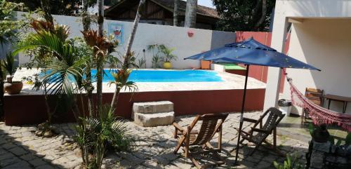 A patio or other outdoor area at Pousada Bela Paraty