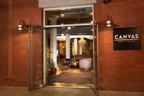 The facade or entrance of Canvas Hotel Dallas