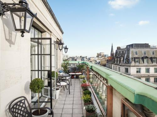A balcony or terrace at The Langham London