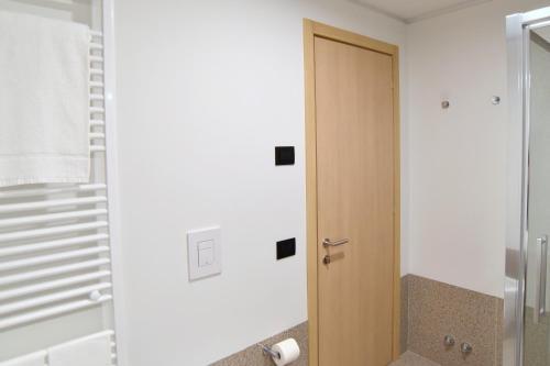 A bathroom at Hotel Casa Del Pellegrino