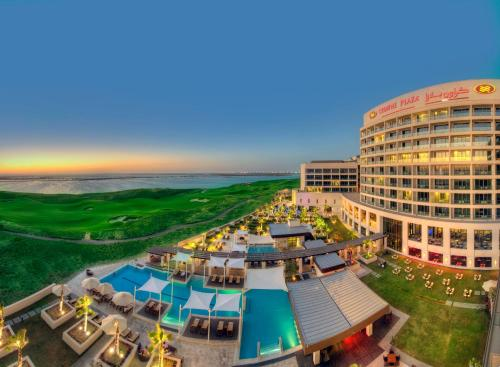 A view of the pool at Crowne Plaza Yas Island, an IHG Hotel or nearby