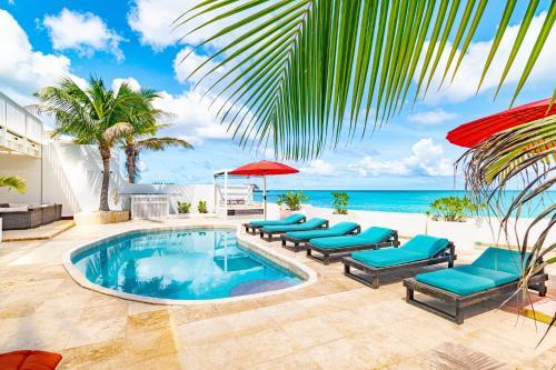 Ocean Front Villa Caprice 7 - Gated Community p. Pool