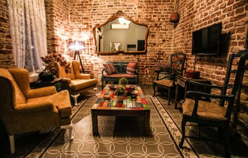 The lounge or bar area at Selvese Collection Hotel Galata 1875