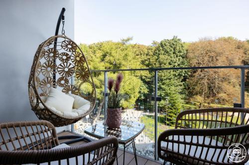 Patio nebo venkovní prostory v ubytování Nadmorskie Tarasy - Apartments M&M