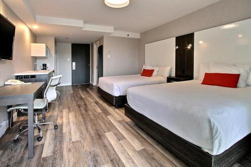 A room at Hotel Classique