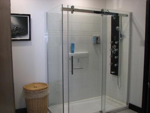 Ванная комната в Magnolia B&B