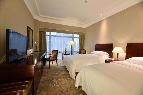 A room at Hotel Equatorial Shanghai