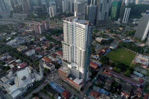 A bird's-eye view of Tamu Hotel & Suites Kuala Lumpur