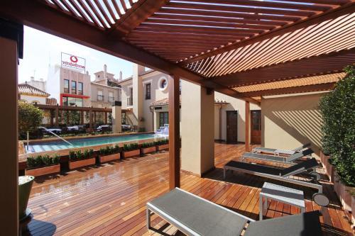 En restaurang eller annat matställe på Casa Consistorial