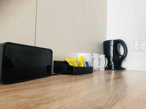 ibis budget Sydney Airport tesisinde kahve veya çay yapma olanakları