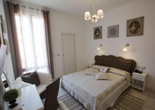 Ένα δωμάτιο στο Hotel Arcoveggio
