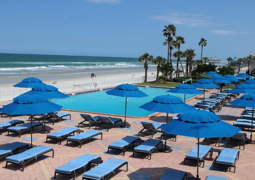 The swimming pool at or near Plaza Resort & Spa - Daytona Beach