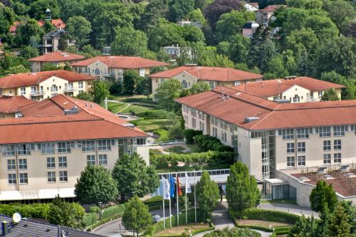 A bird's-eye view of City Hotel Dresden Radebeul