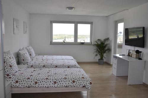 A room at Über den Wolken und super zentral zwischen Frankfurt und Darmstadt - 100qm