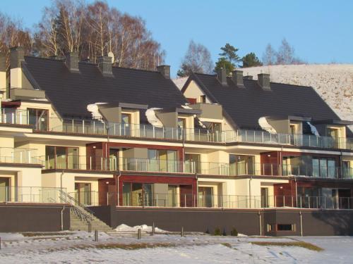 Obiekt Mrągowo Apartament Lake & Ski zimą