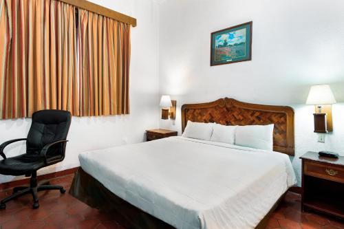 A room at Hotel Urdiñola Saltillo