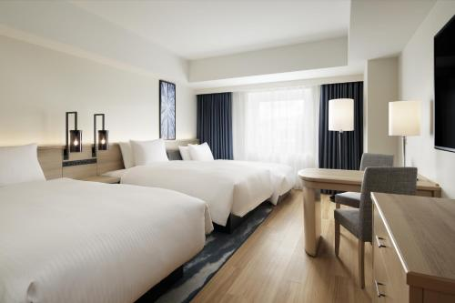 A room at Fairfield by Marriott Sapporo