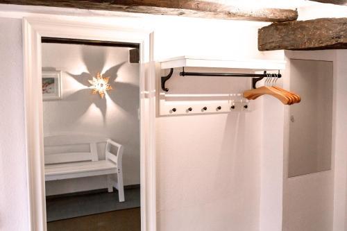 Een badkamer bij Fachwerk Ferienhaus Cochem