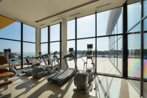 The fitness centre and/or fitness facilities at All Suite Island Hotel Istra