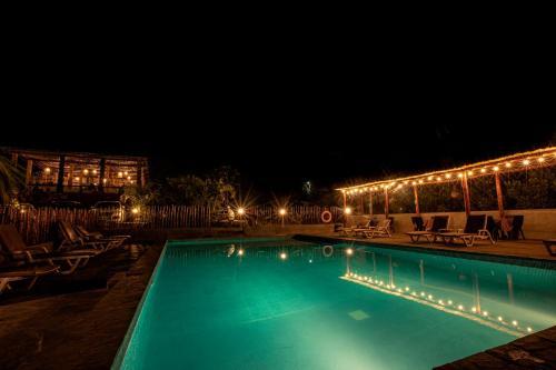 The swimming pool at or close to La Confianza Hotel