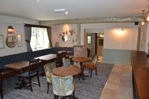 The lounge or bar area at The Forresters Arms Kilburn