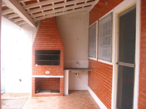 The facade or entrance of Casa Ilha Comprida