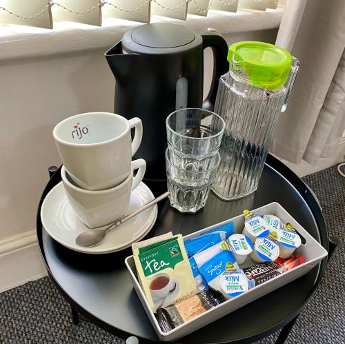 Coffee and tea-making facilities at Be My Guest Liverpool