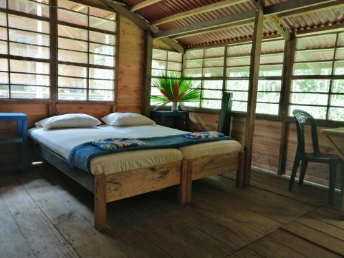 A room at Safio. Una casa en el paraiso.