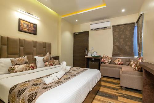 Una habitación en Hotel Urban Galaxy