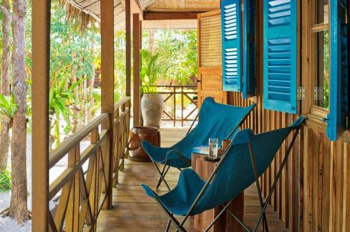 Ein Patio oder anderer Außenbereich in der Unterkunft Sok San Beach Resort