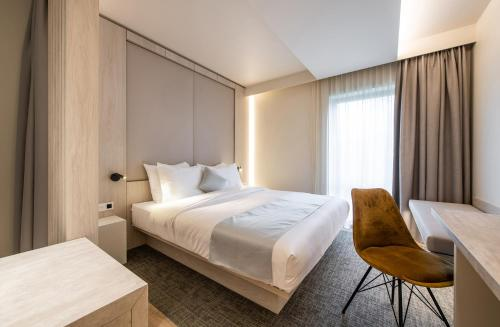 A room at Begijnhof Hotel