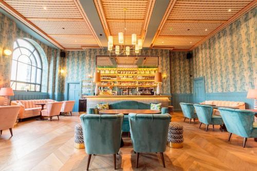 Loungen eller baren på The Clarence