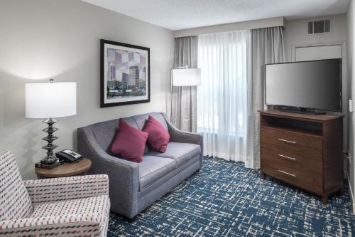 Prostor za sedenje u objektu Homewood Suites Austin NW near The Domain