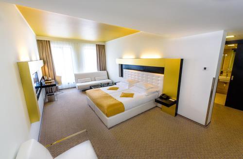 A room at Grandior Hotel Prague
