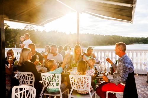 Gäster på Västervik Resort