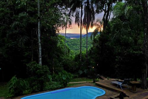 The swimming pool at or near Chacra del Agua Reserva Privada