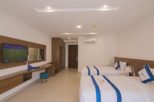 A room at Mermaid Seaside Hotel