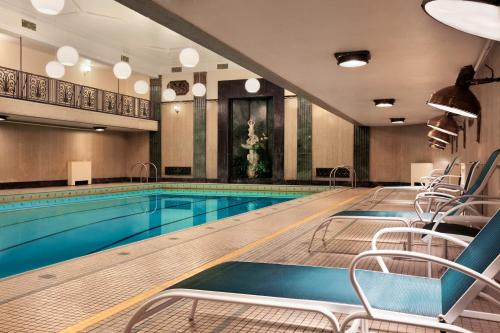 The swimming pool at or near Fairmont Chateau Laurier
