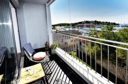 A balcony or terrace at Romana Serena Sunset