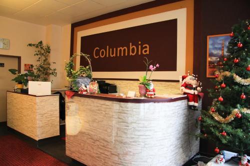 Lobby/Rezeption in der Unterkunft Hotel Columbia