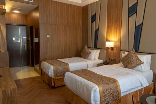 Um quarto em Golden Tower Hotel AlKhobar Corniche