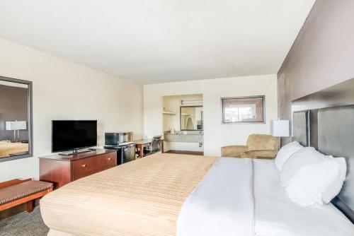 A room at OYO Hotel Alexandria LA- Hwy 165