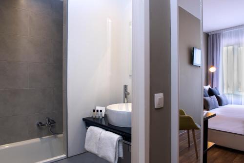 Een badkamer bij Tryp By Wyndham Antwerp