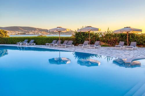 Piscina di Paros Agnanti Hotel o nelle vicinanze