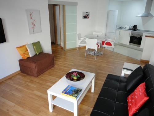 A seating area at Residencial Suites Valldemossa - Turismo de Interior