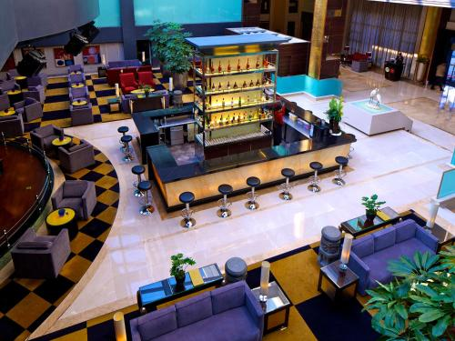 The lounge or bar area at C&D Hotel,Xiamen