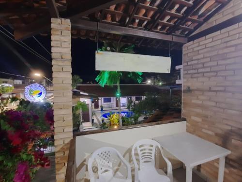 O lounge ou bar de Pousada Sete Mares
