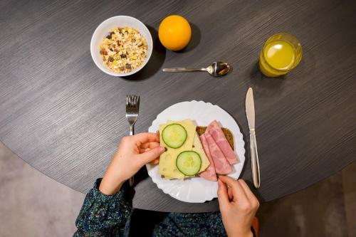 Essen im Hostel oder in der Nähe