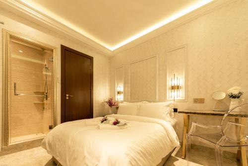 A room at AJ Residence @ Kota Kinabalu City Center
