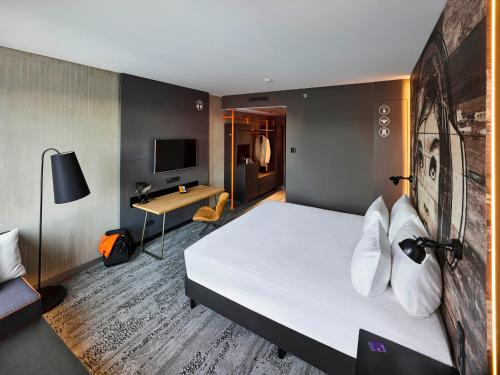 A room at Jaz in the City Amsterdam
